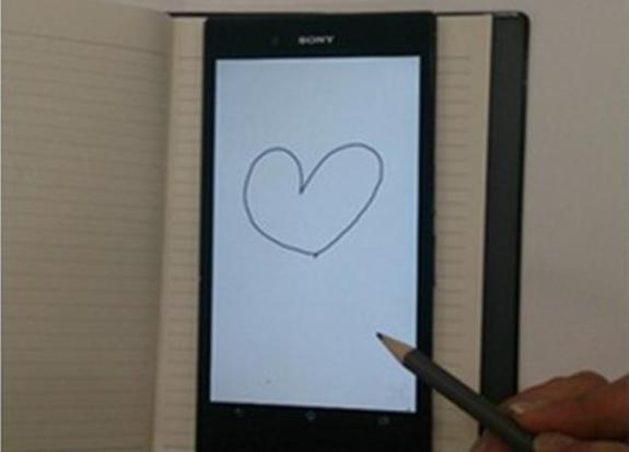 An alleged image of the Sony Xperia Z Ultra, posted to ePrice.