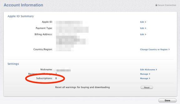 Mac App Store subscriptions