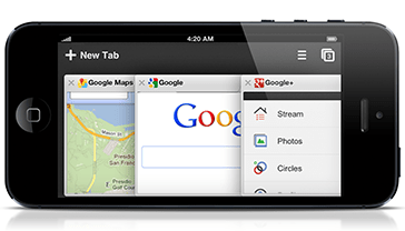 Replace Safari with Chrome for iPhone.