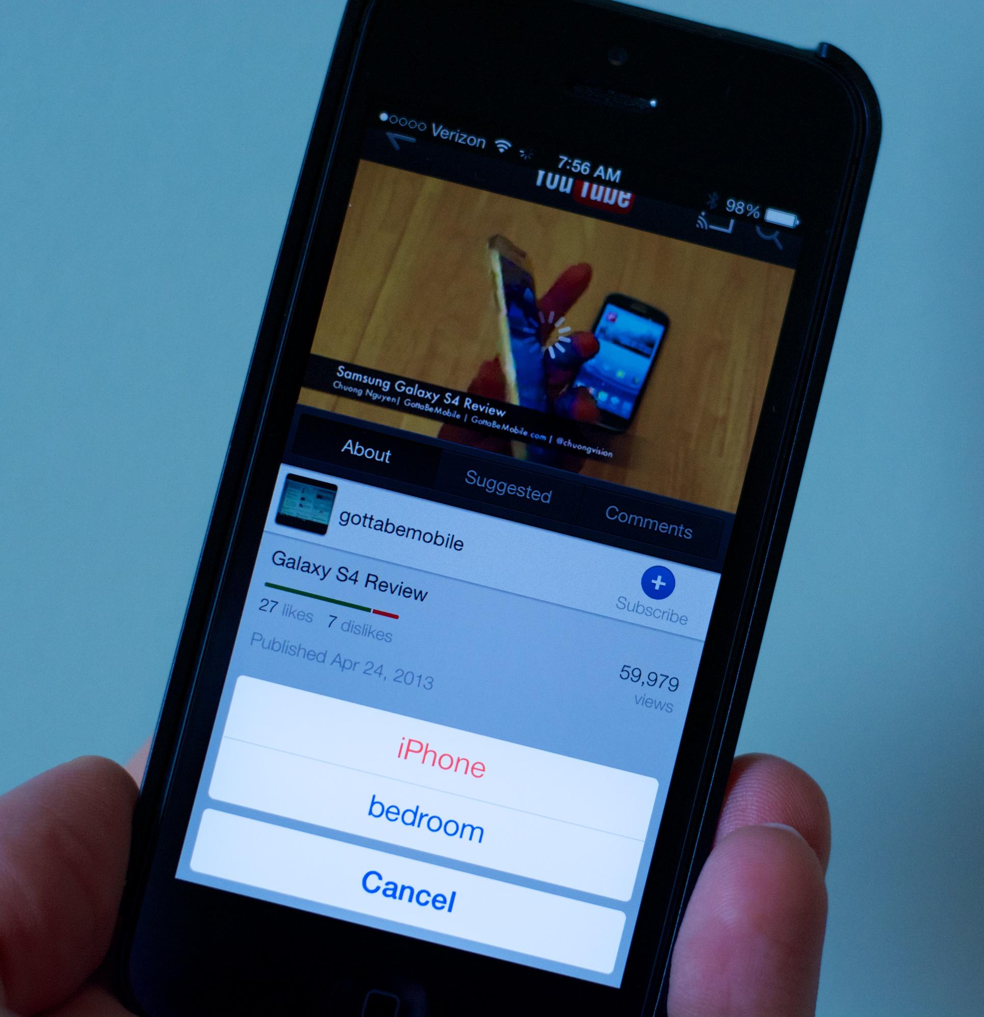 Iphone Chromecast