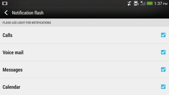 Enable a smart ringer on the HTC One.