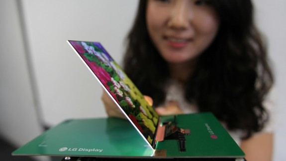 This super-thin display should be a star of upcoming LG smartphones with 1080P, high brightness ratings and a super-thin design.
