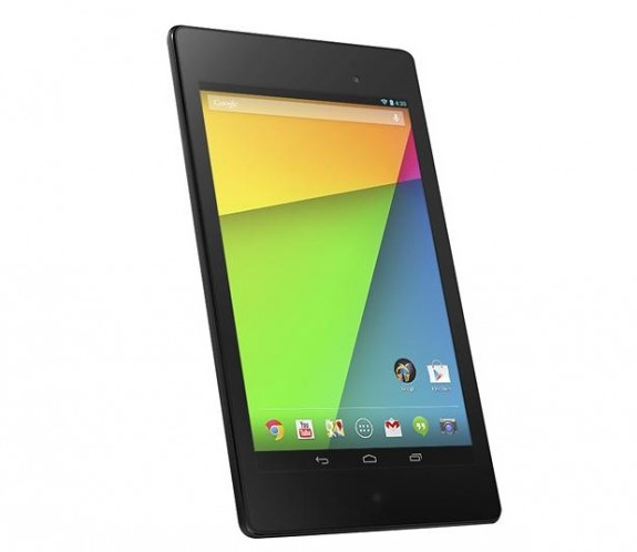 The Nexus 7 display sees a major upgrade in the new Nexus 7.