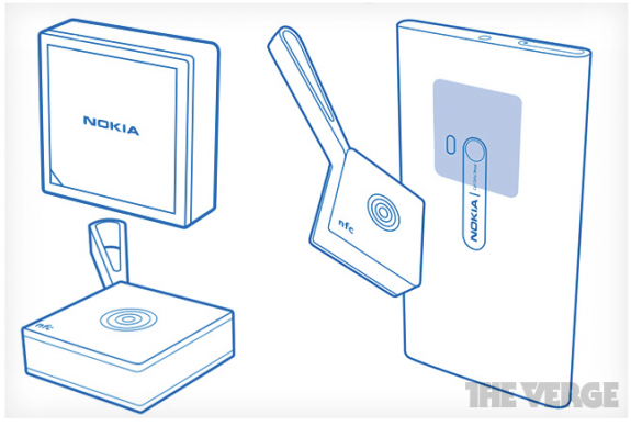 Illustrations of the Nokia Treasure Tag, Bluetooth 4.0 accessory, sent to The Verge.