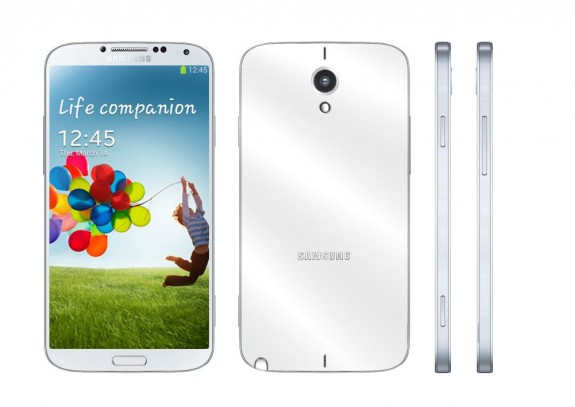 A metal Galaxy Note 3 concept. Don't expect the real Galaxy Note 3 to look like this.