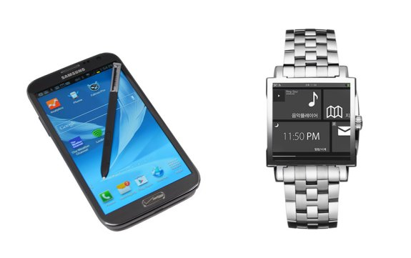 The Samsung Galaxy Note 3 and Samsung Galaxy Watch could be a perfect pair this fall.