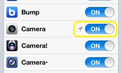 Turn Camera OFF