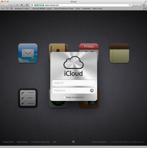 iPhone updating through iCloud