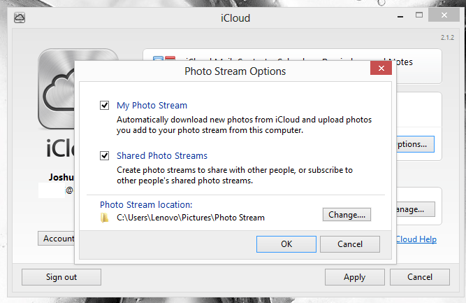 How to Set Up iCloud & Photo Stream on Windows 8