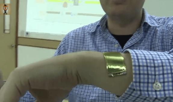 This flexible battery tech could be the key to an iWatch or smartwatch.