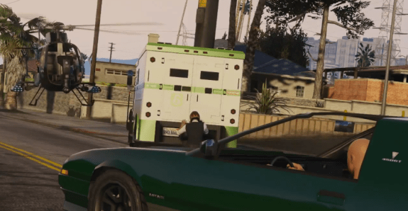 Get a group of friends together in GTA 5 to pull of crazy heists.