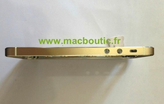 Gold iPhone 5S Side