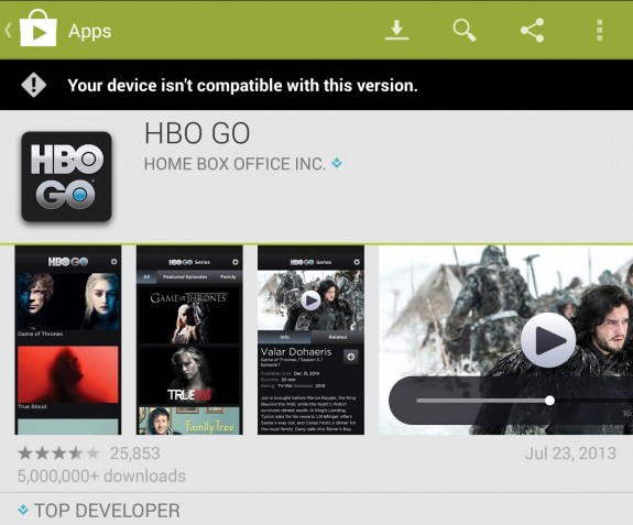 HBO Go Nexus 7 Android 43
