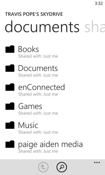 How To Sync Documents to Windows Phone Using SkyDrive 7