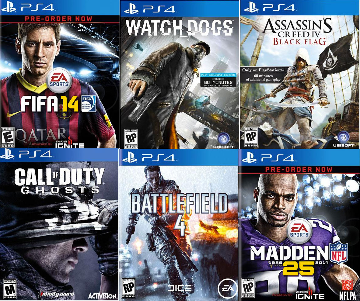 Games That Come With The Ps4 : Sony reveals ps games coming in