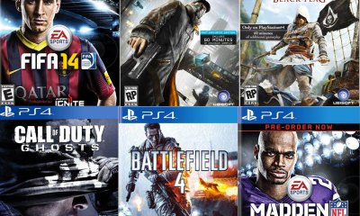 Sony reveals the list of PS4 games coming in the days and weeks after release.