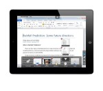 Parallels Access on iPad accessing Windows Word 2010 on a PC with Parallels Access App Switcher