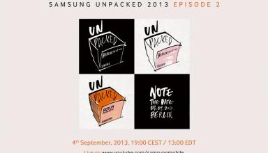 The Samsung Galaxy Note 3 launch event is on for September 4th.