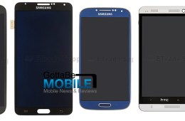 This is how the Galaxy Note 3 could look compared to its rivals.