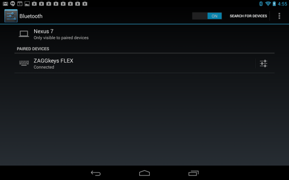 Some Bluetooth keyboards don't work with Android 4.3.