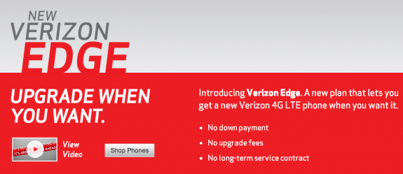 Verizon Edge and Verizon Max plans tempt unlimited data users.