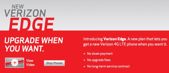 Verizon Edge and Verizon Max plans tempt unlimited data users.