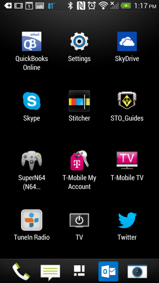 how to control your tv with the htc one (2)