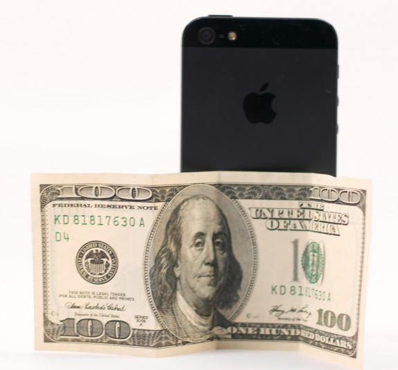 The iPhone 5 will likely be $100 cheaper in less than 50 days.