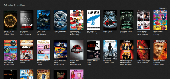 itunes movie bundle sale