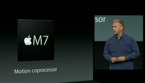 The M7 processor helps deliver smart actions based on movement.