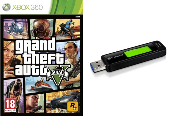 It's a good idea to order a flash drive to get ready for GTA 5 on the Xbox 360.