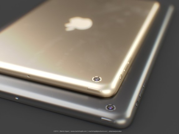 This gold iPad mini 2 looks very nice.