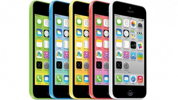 The iPhone 5c