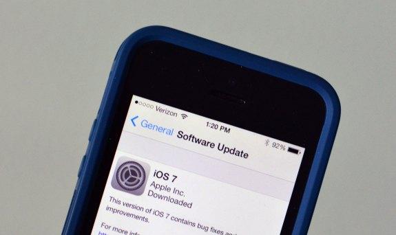 Install the iOS 7 upgrade.