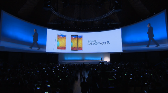 The Samsung Galaxy Note 3 release date has been confirmed.
