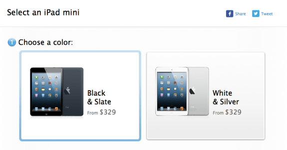 The iPad mini price should drop at Apple. And through retailers.