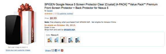 """This Nexus 5 """"release date"""" is nothing more than speculation."""