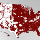 Verizon's 4G LTE coverage.
