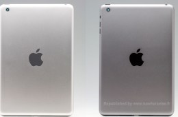 Silver iPad mini 2 vs. Space Grey iPad mini 2.
