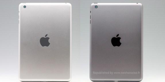 Silver iPad mini 2 vs. Space Grey iPad mini 2.