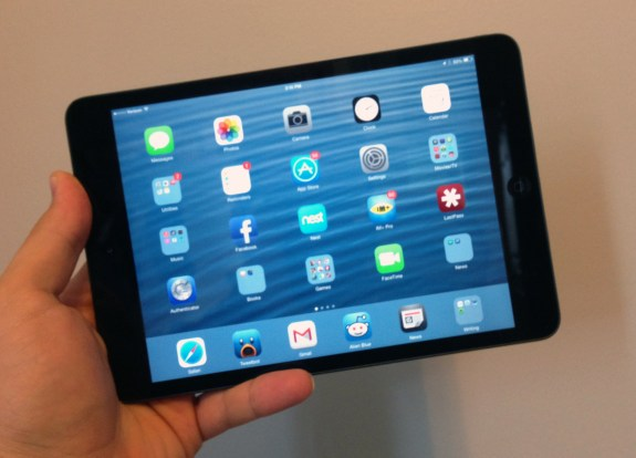 The iOS 7 update for the iPad mini is a great upgrade.