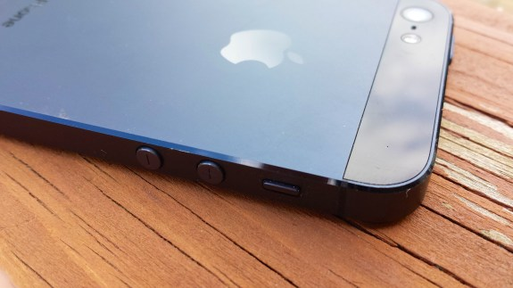The iPhone 5 scratches easily, and the iPhone 5S may as well.