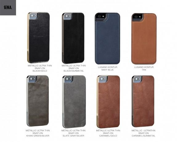 SENA Metallic Ultrathin Snap On iPhone 5s case