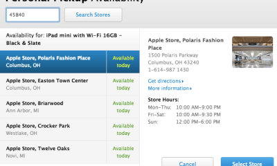 Look for an iPhone 5s personal pickup option this week.
