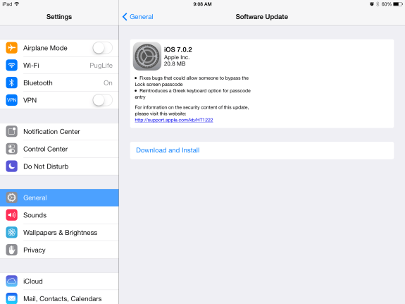 A much smoother install process this time around.