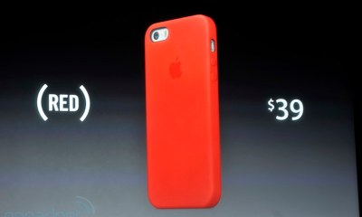 iphone 5s red case
