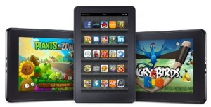 Amazon's Android-powered Kindle Fire tablet helped popularize the 7-inch form factor with its low $199 price tag.