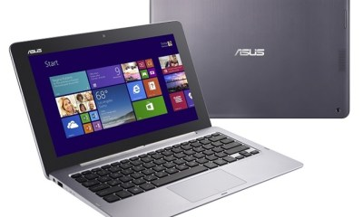 asus transformer book trio in noteboook mode