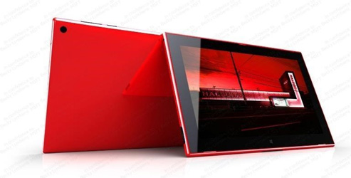 A picture of the Nokia Sirius tablet leaked by Microsoft wather Paul Thurrott.