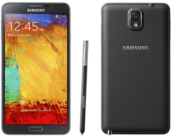The Samsung Galaxy Not 3 arrives in October.